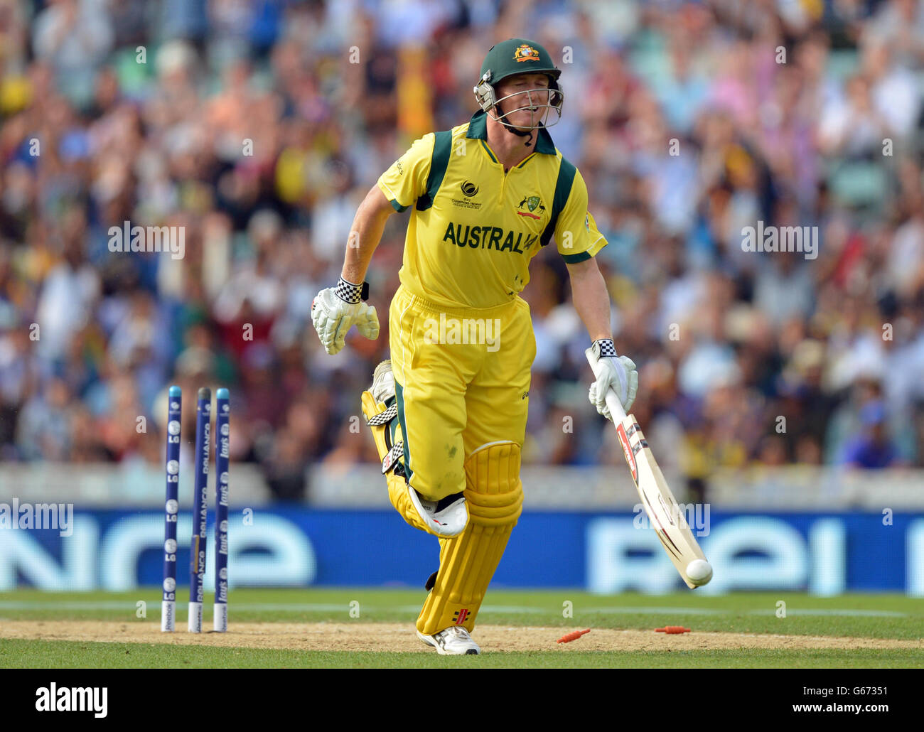 Cricket Icc Champions Trophy Group A Australia V Sri