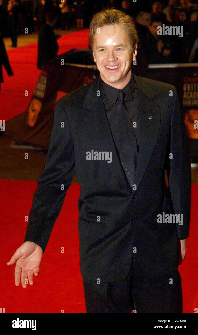 ORANGE BAFTAS Tim Robbins Stock Photo