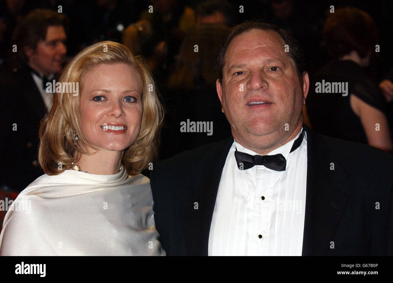 ORANGE BAFTAS Harvey Weinstein Stock Photo