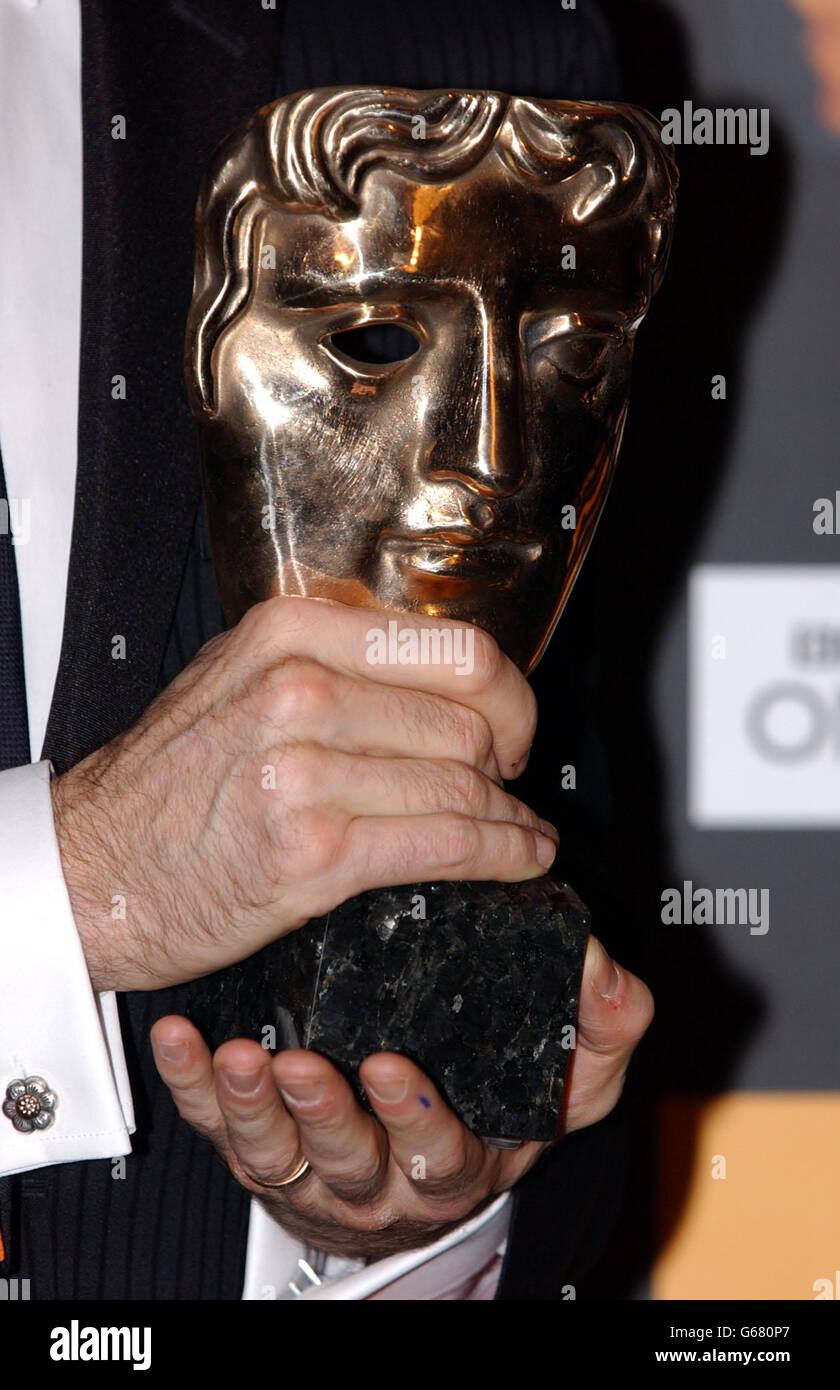 ORANGE BAFTAS award Stock Photo