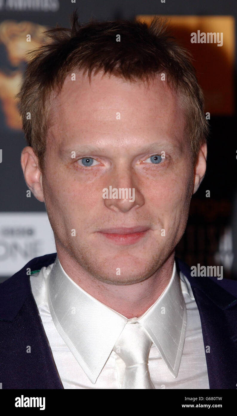 ORANGE BAFTAS Paul Bettany Stock Photo