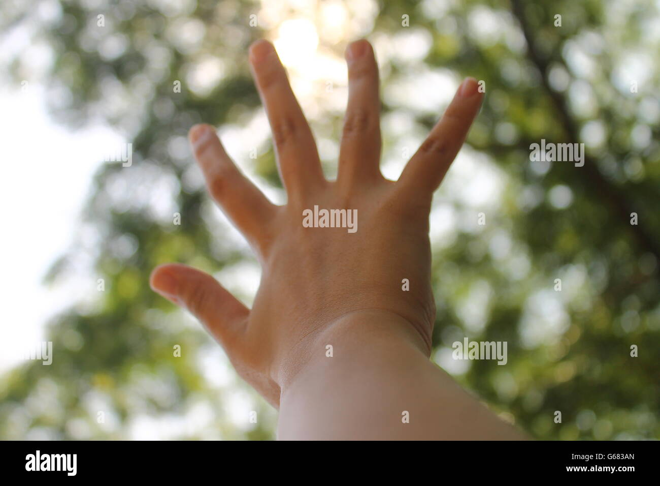 Glimmer of Hope. - Stock Image