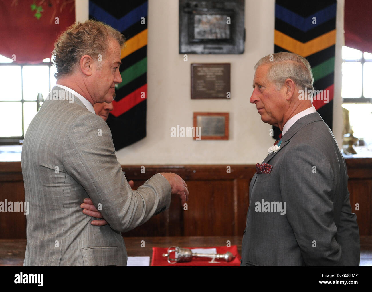 Royal visit to Wales - Day 5 Stock Photo