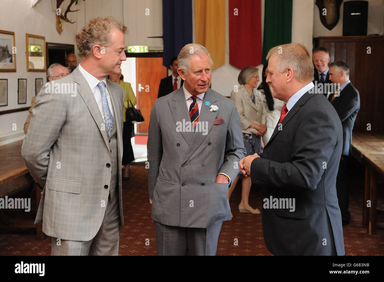 Royal visit to Wales - Day 5 - Stock Image