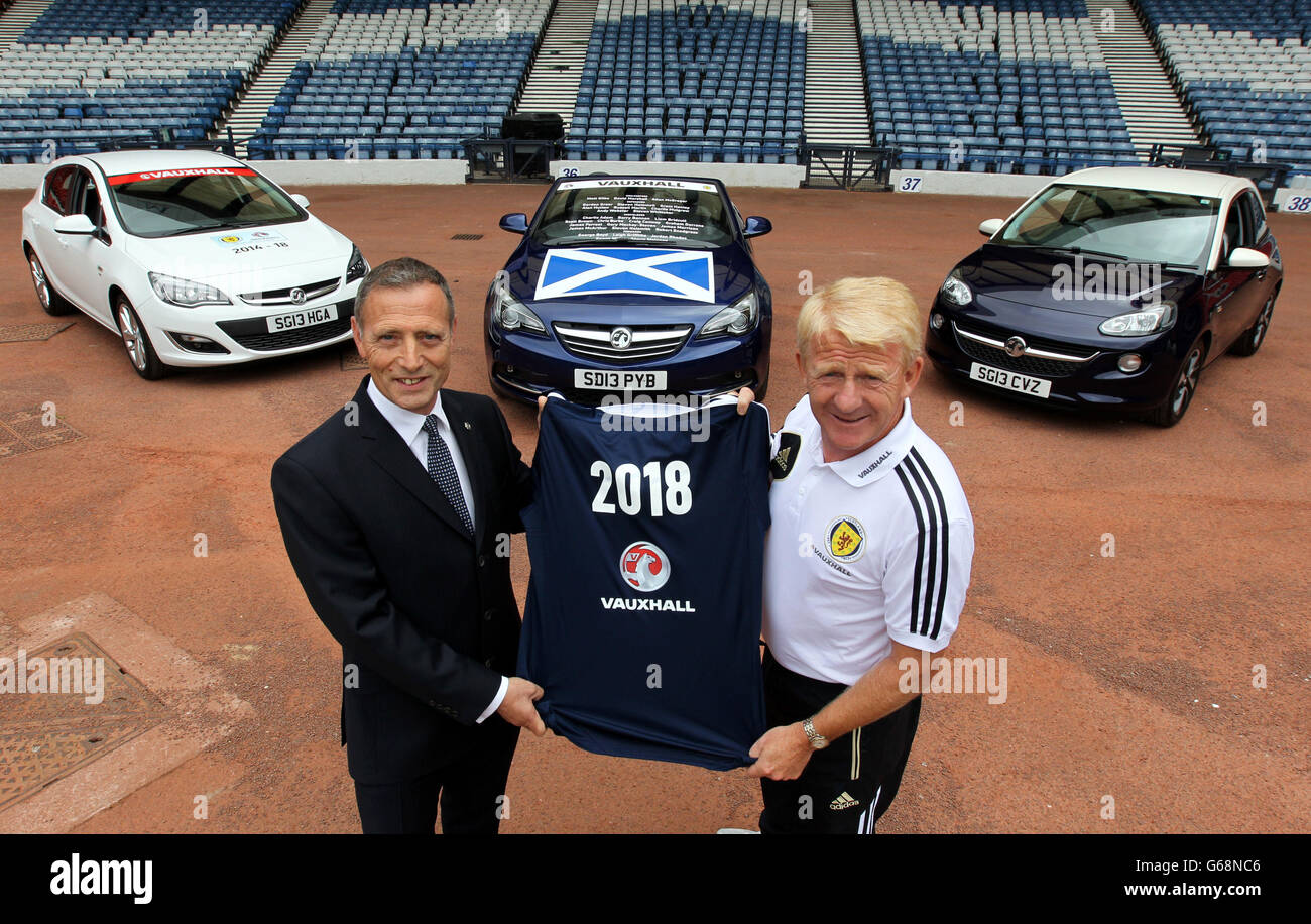 Soccer - Scotland Team Announcement - Hampden Park - Stock Image
