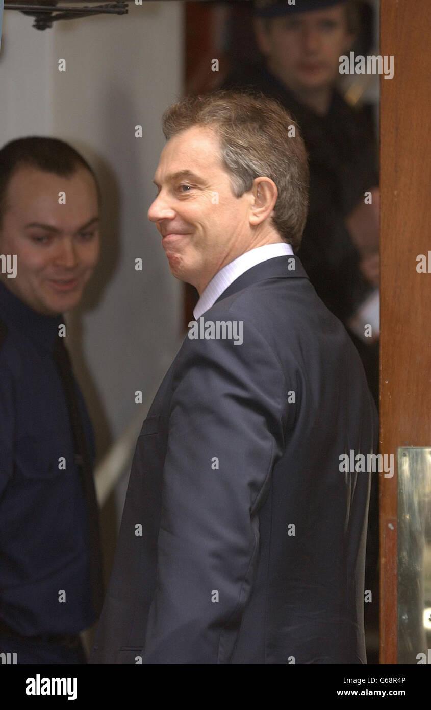 Blair - Labour Party Headquarters - Stock Image