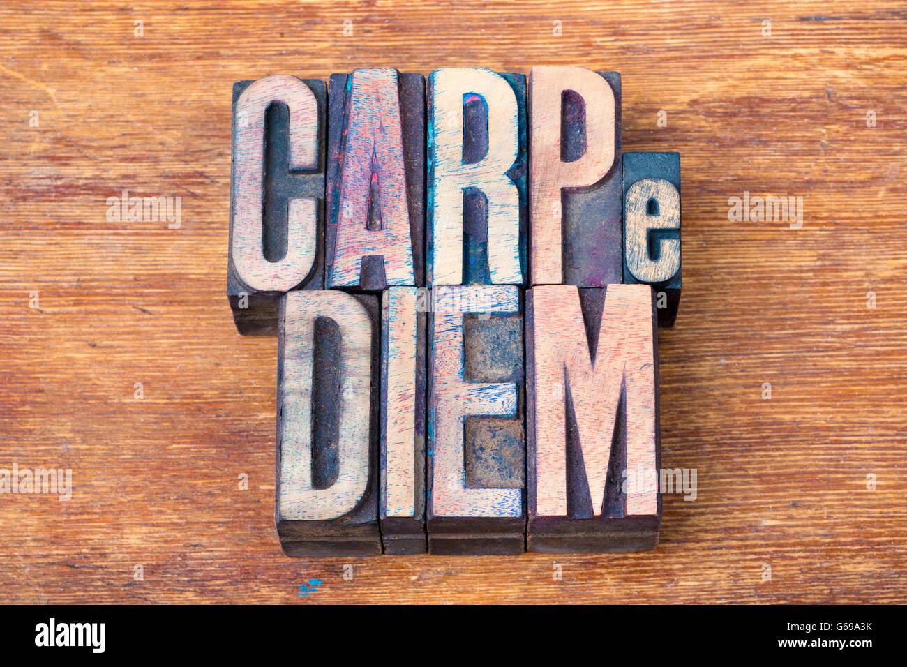 Carpe Diem Famous Ancient Roman Poet Horace Quote With