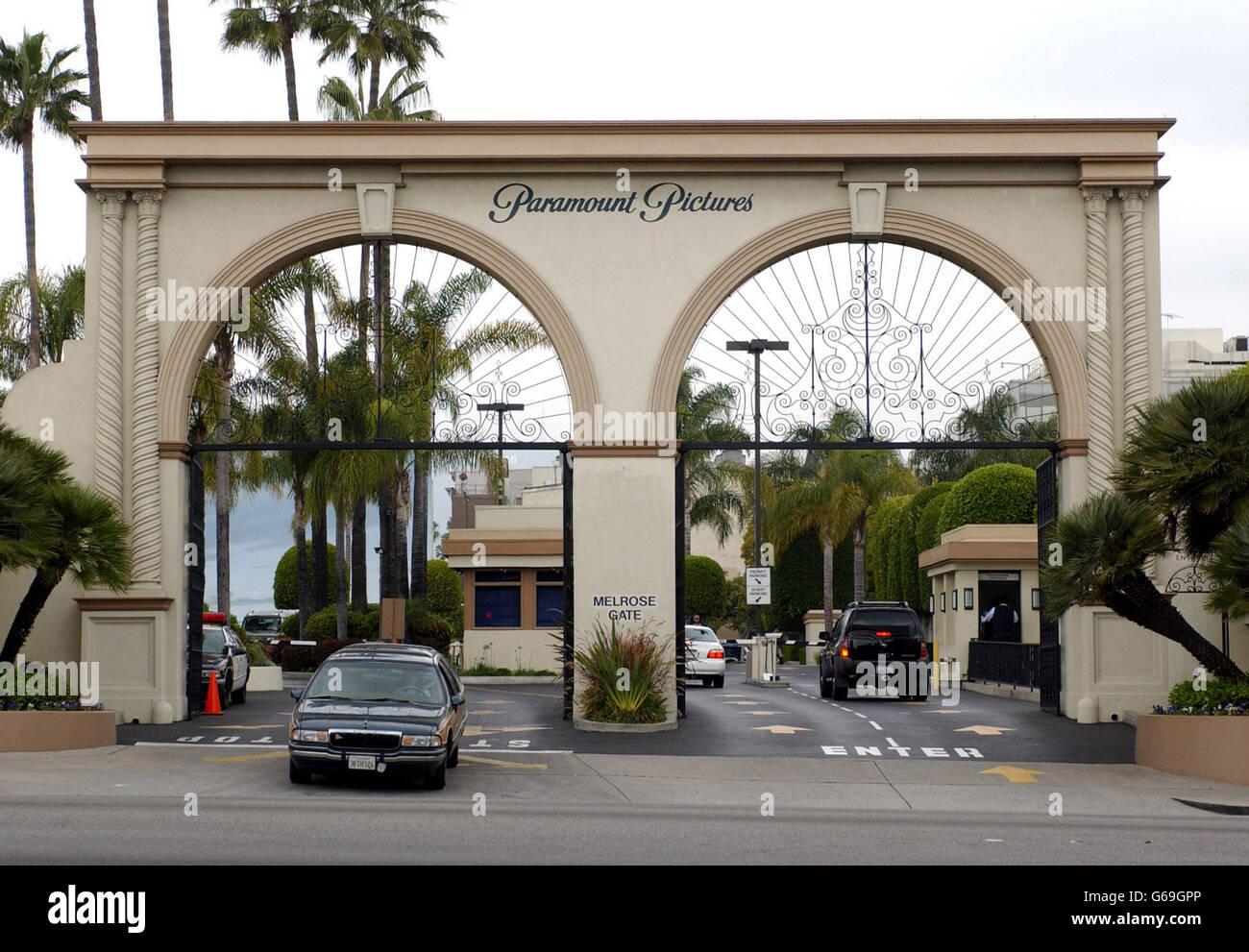 Paramount Studios - Hollywood Stock Photo