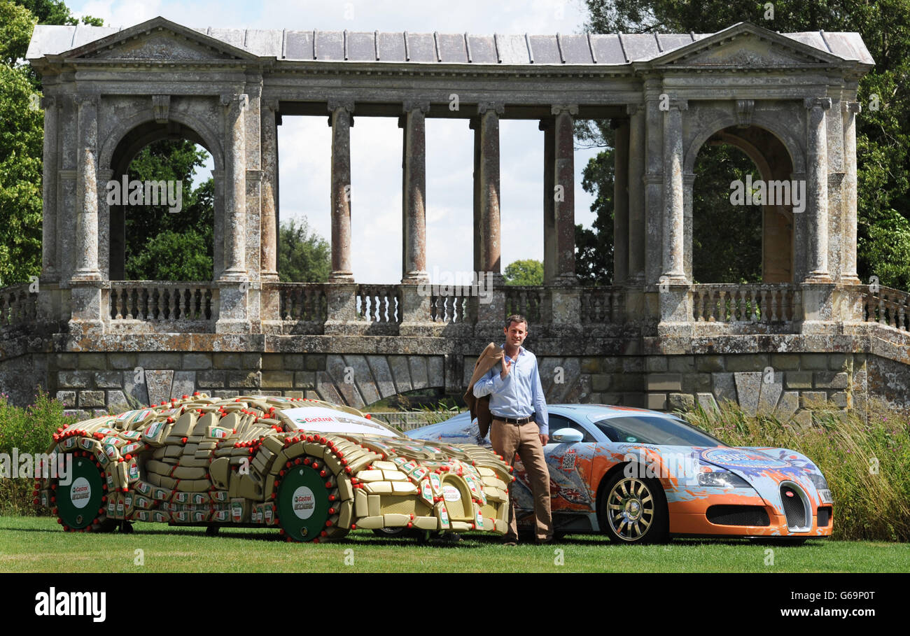 Wilton Classic and Supercars Stock Photo