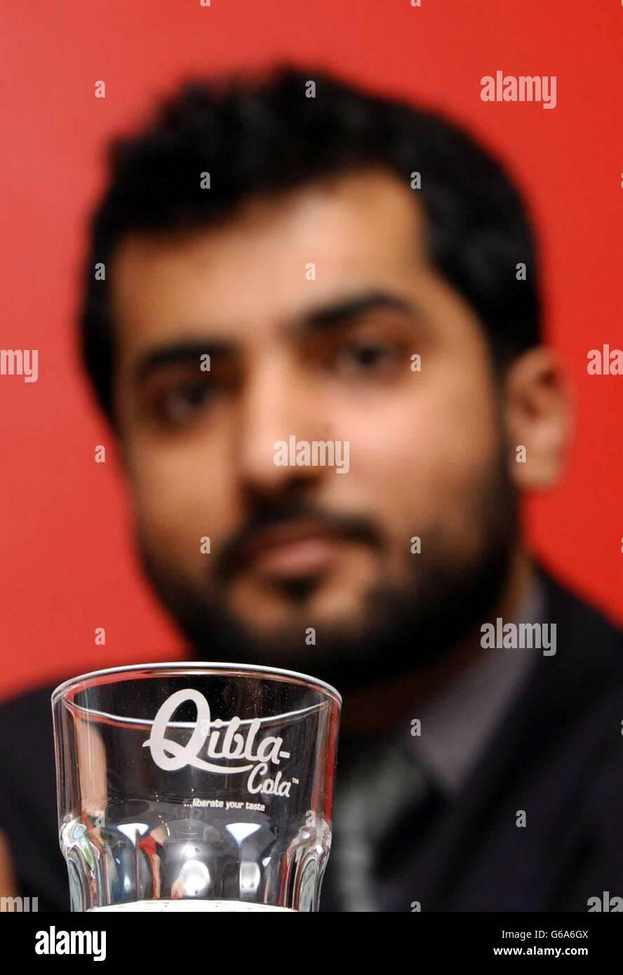 Qibla-Cola Company - Iqbal - Stock Image