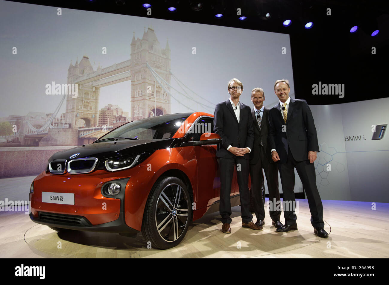Bmw Electric Car Launch Stock Photo 107176983 Alamy