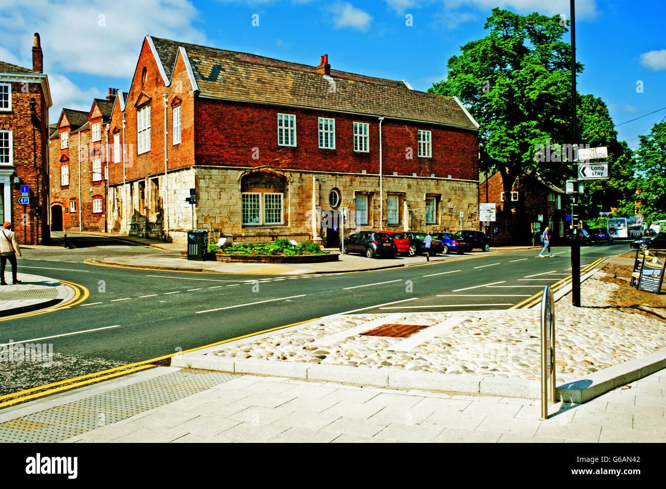 St. Anthonys Hall, Peasholm Green, York - Stock Image