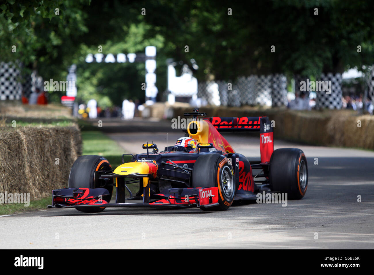 Goodwood West Sussex UK 24th June 2016 Red Bull F1 Car