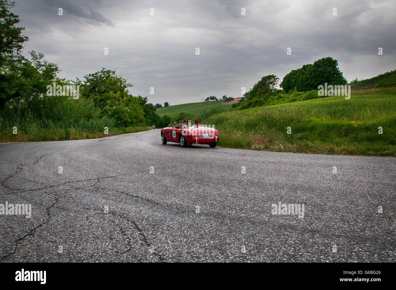 S.I.A.T.A. Daina Gran Sport Stabilimenti Farina 1952 - Stock Image