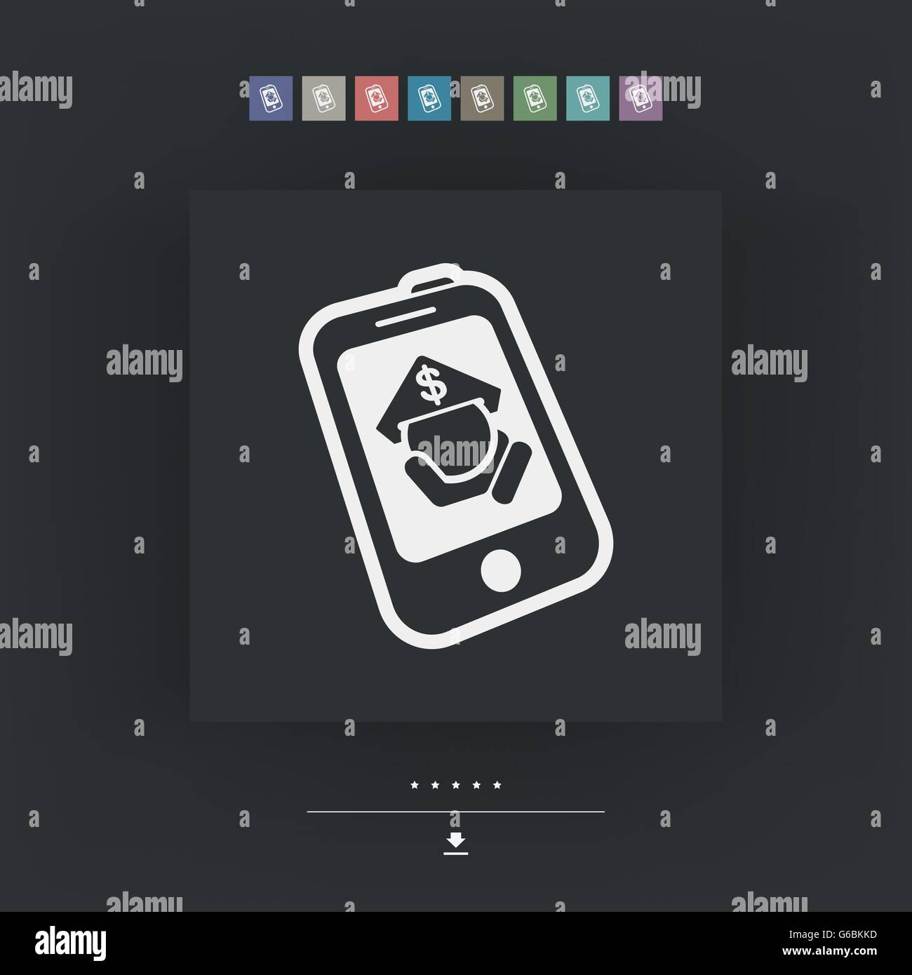 Phone Tariff Plan Stock Vector Art Illustration Vector Image