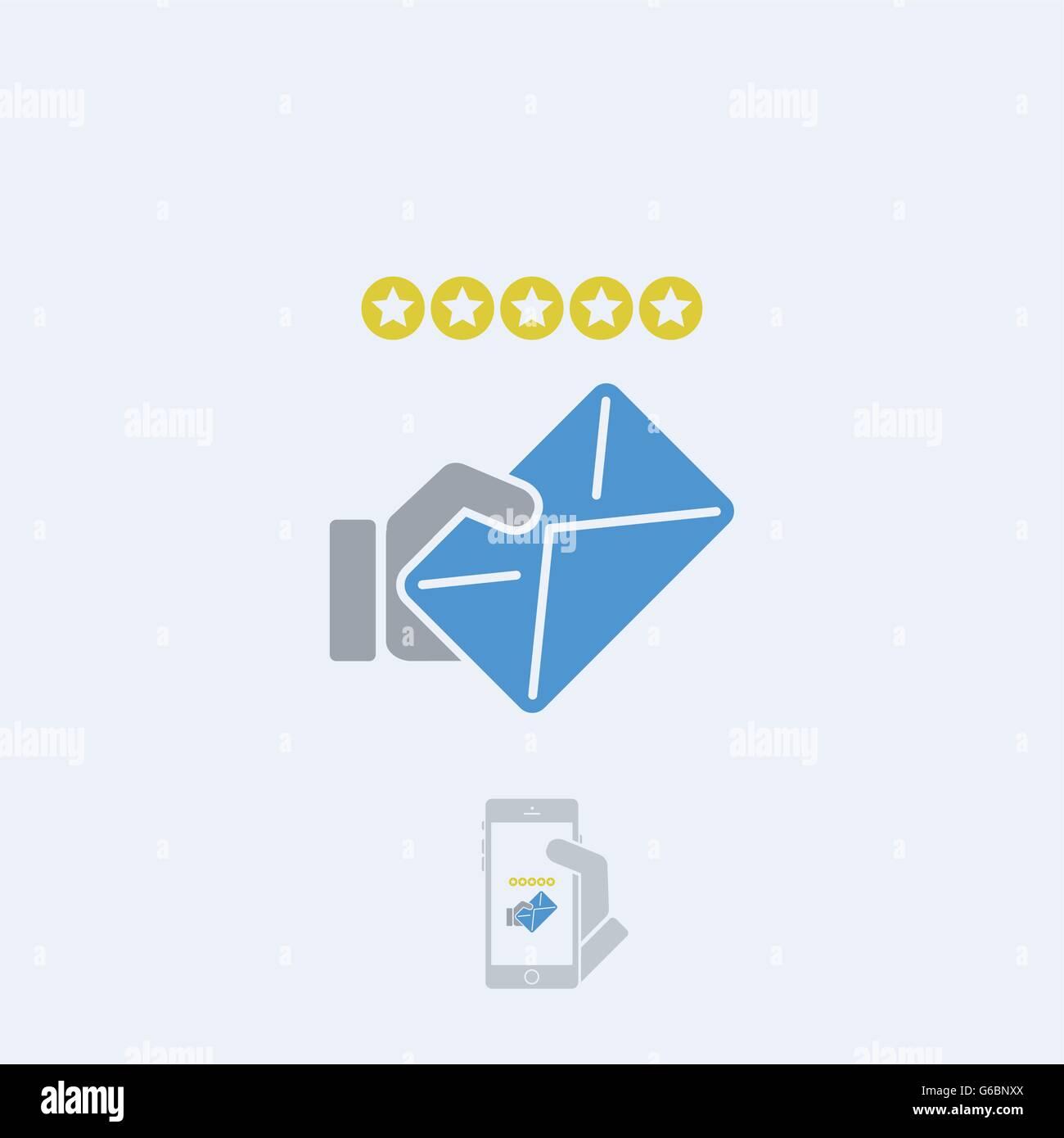Postal service - Stock Vector