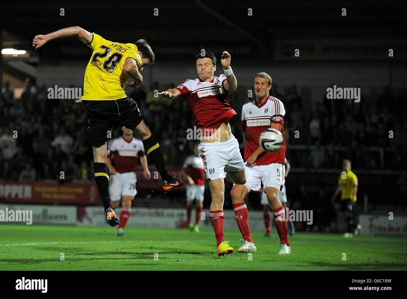 discreción Esplendor Samuel  Soccer - Capital One Cup - Second Round - Burton Albion v Fulham Stock  Photo - Alamy