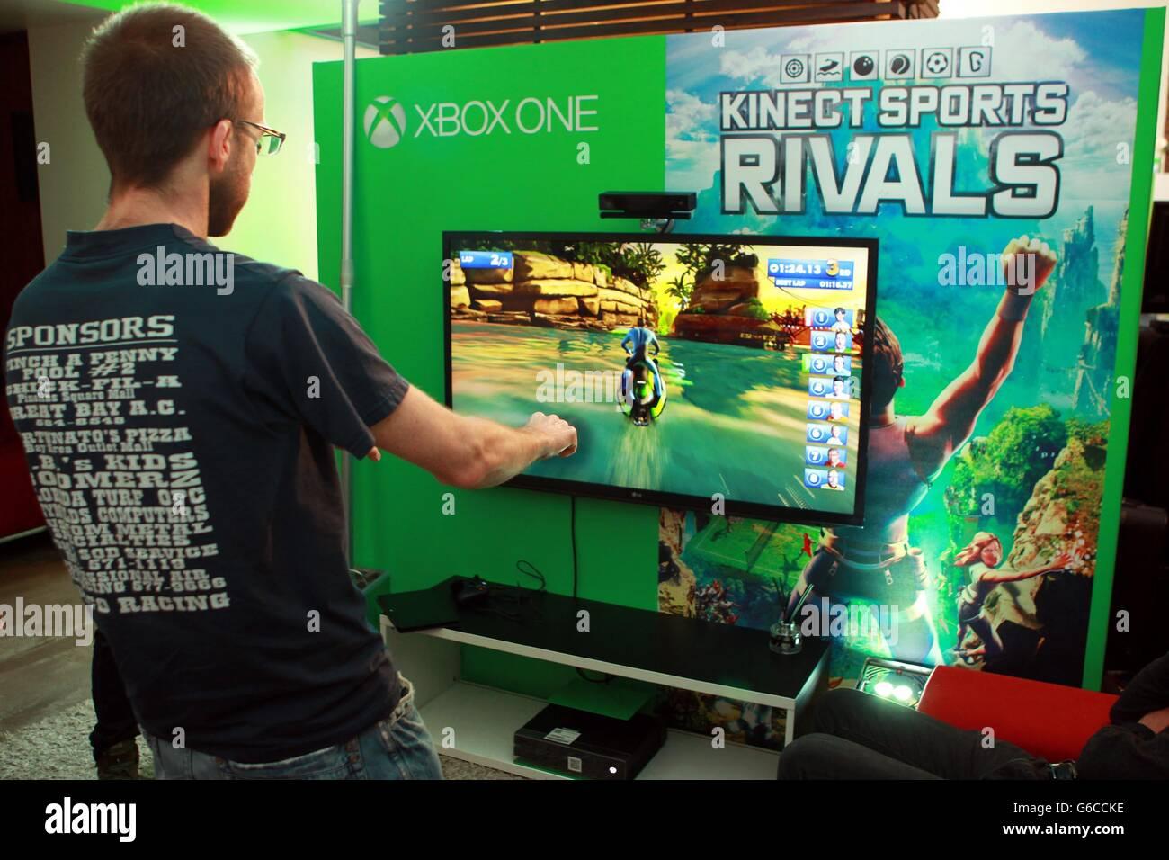 Xbox One revealed - London Stock Photo: 107223522 - Alamy