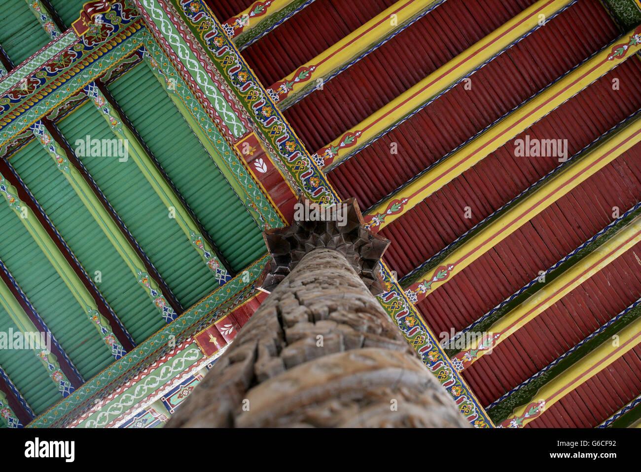 Rehabilitation of Juma Mosque in Kokand - Stock Image