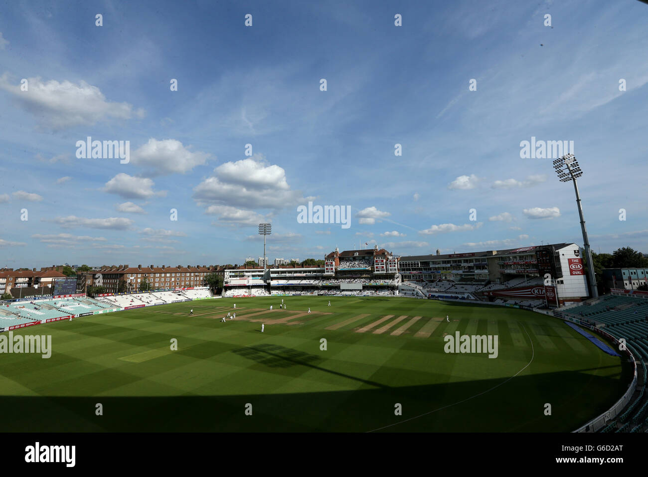 Cricket - LV=County Championship - Division One - Surrey v Derbyshire - The Kia Oval - Stock Image
