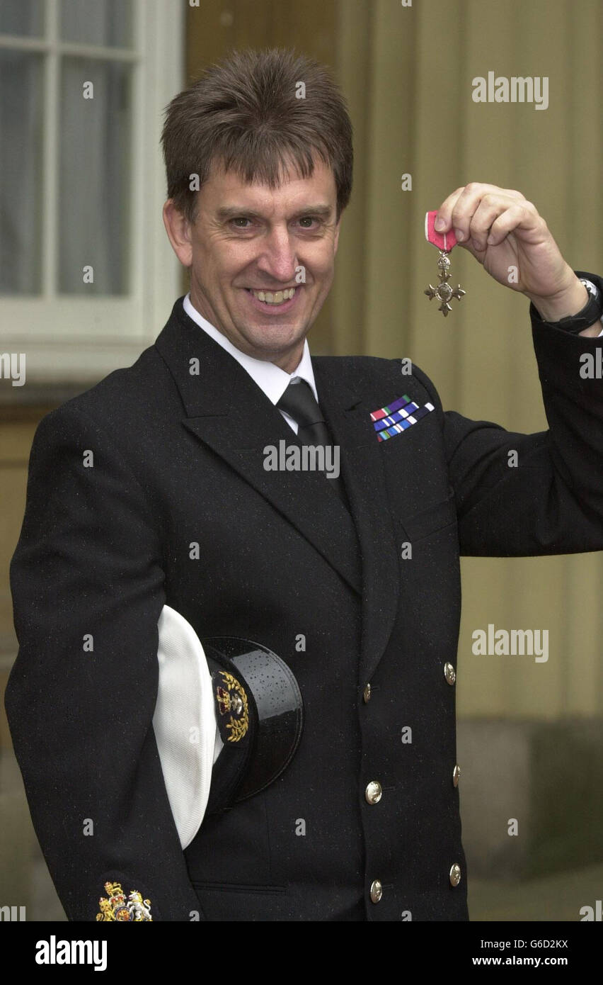 Michael Elliott MBE - Stock Image