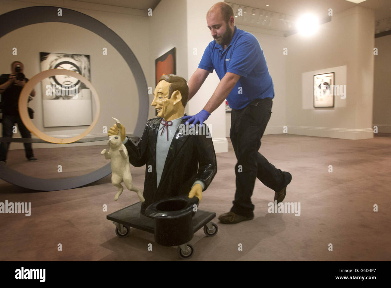 The New Situation - Art in London in the Sixties exhibition - Stock Image