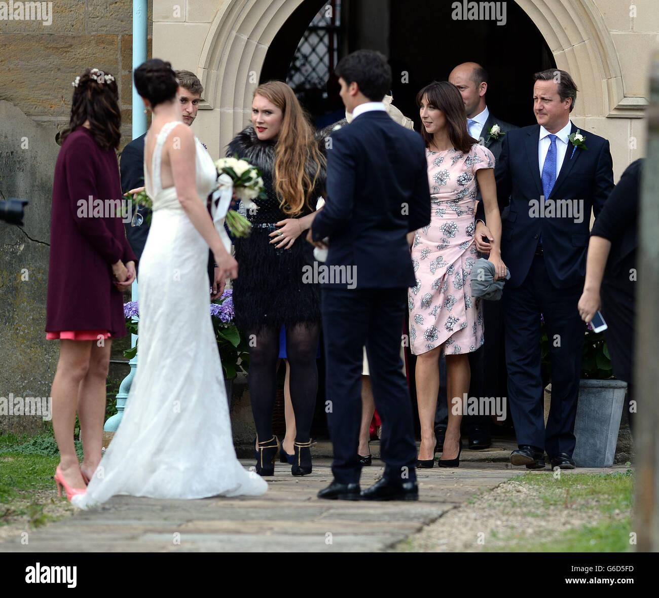 Alice Sheffield wedding - Stock Image