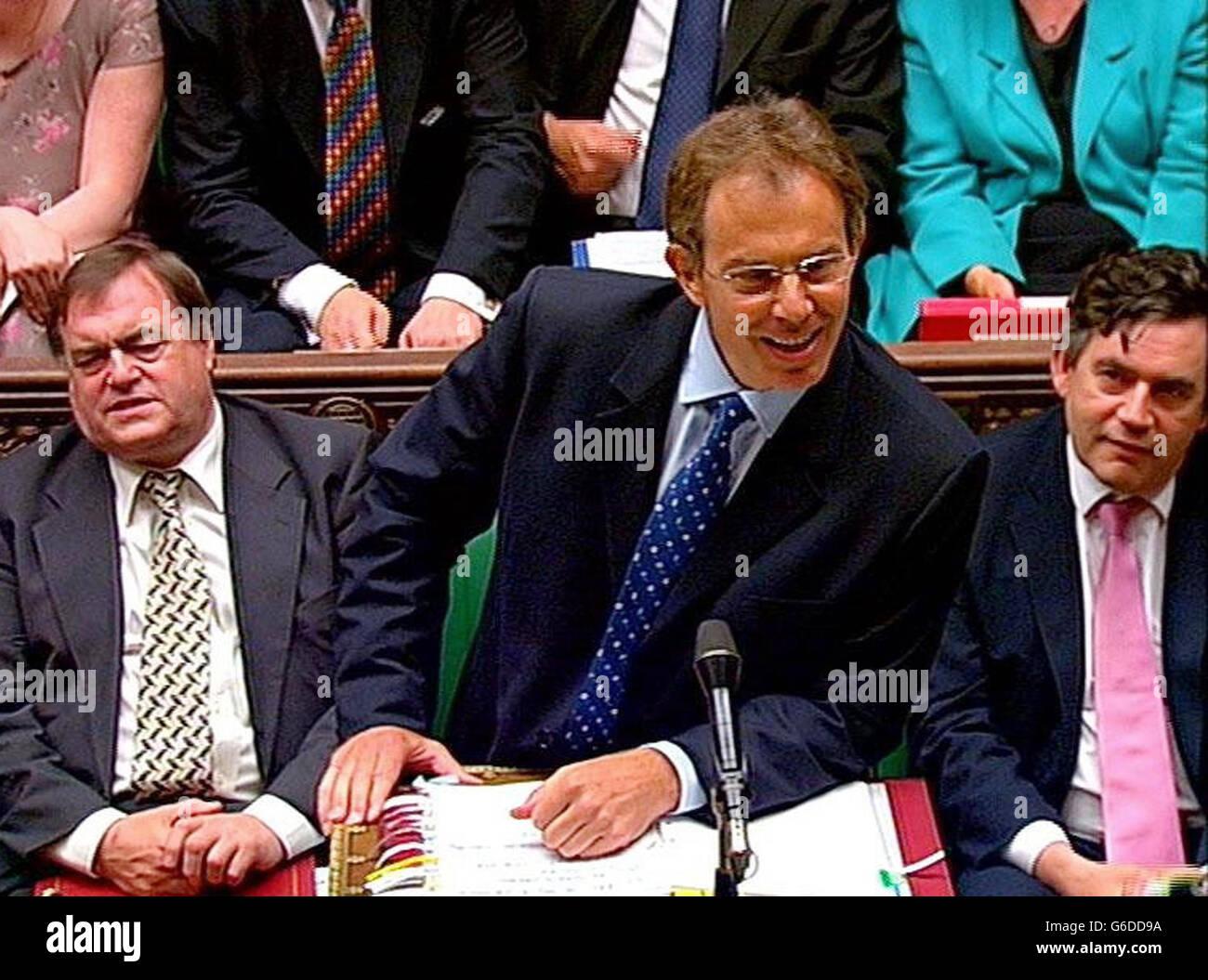 Blair utser nya ministrar