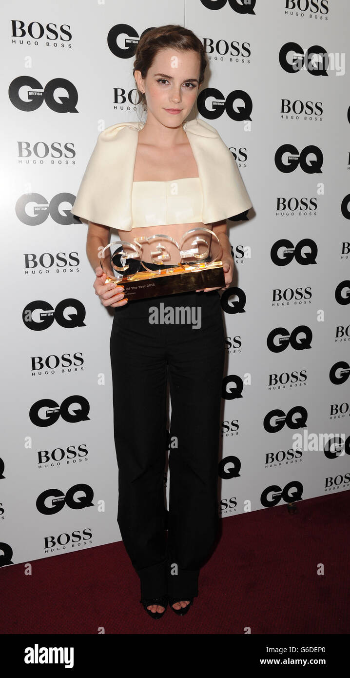 GQ Men of the Year Awards 2013 - London - Stock Image