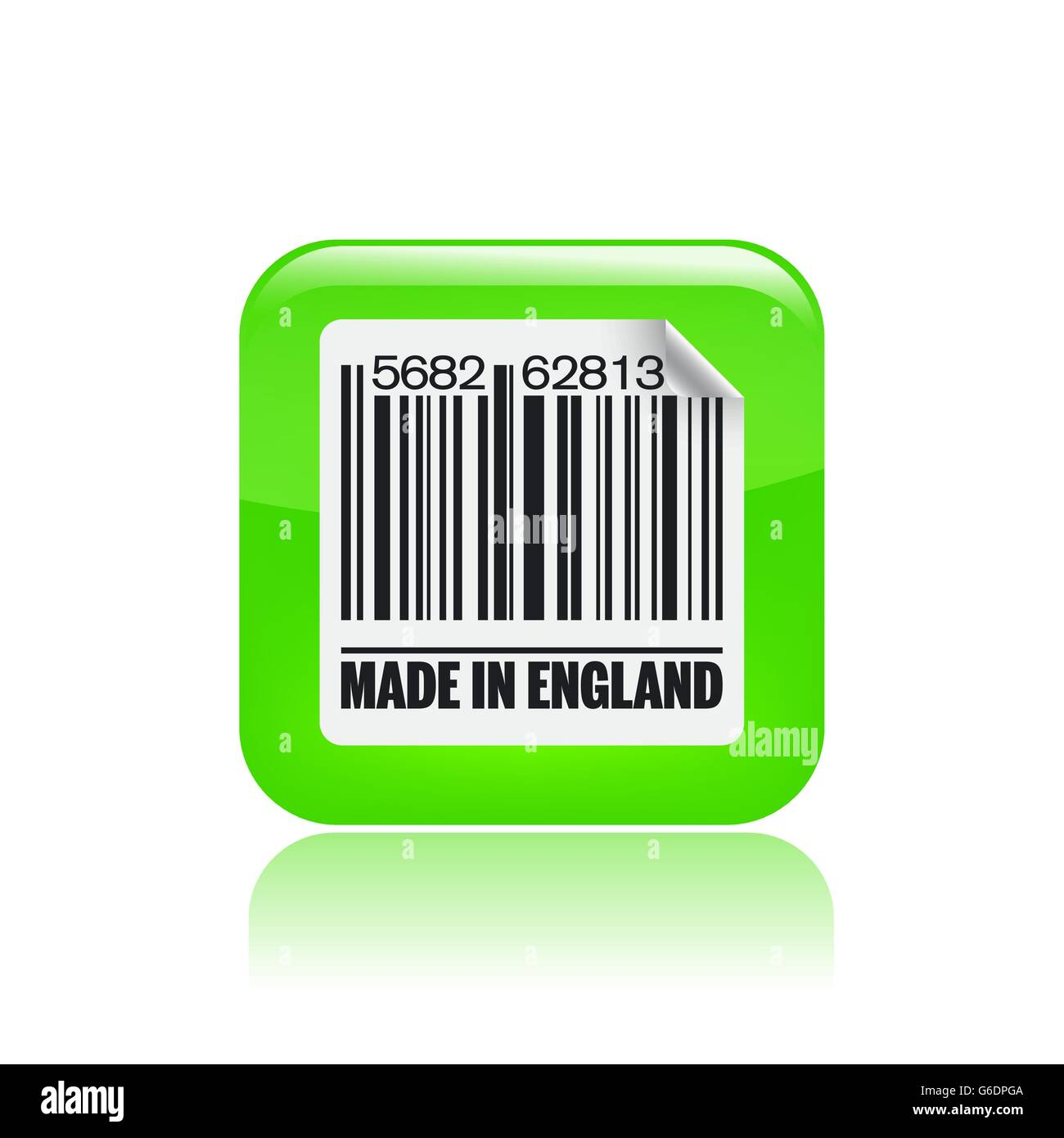 Vector illustration of single isolated England icon - Stock Vector