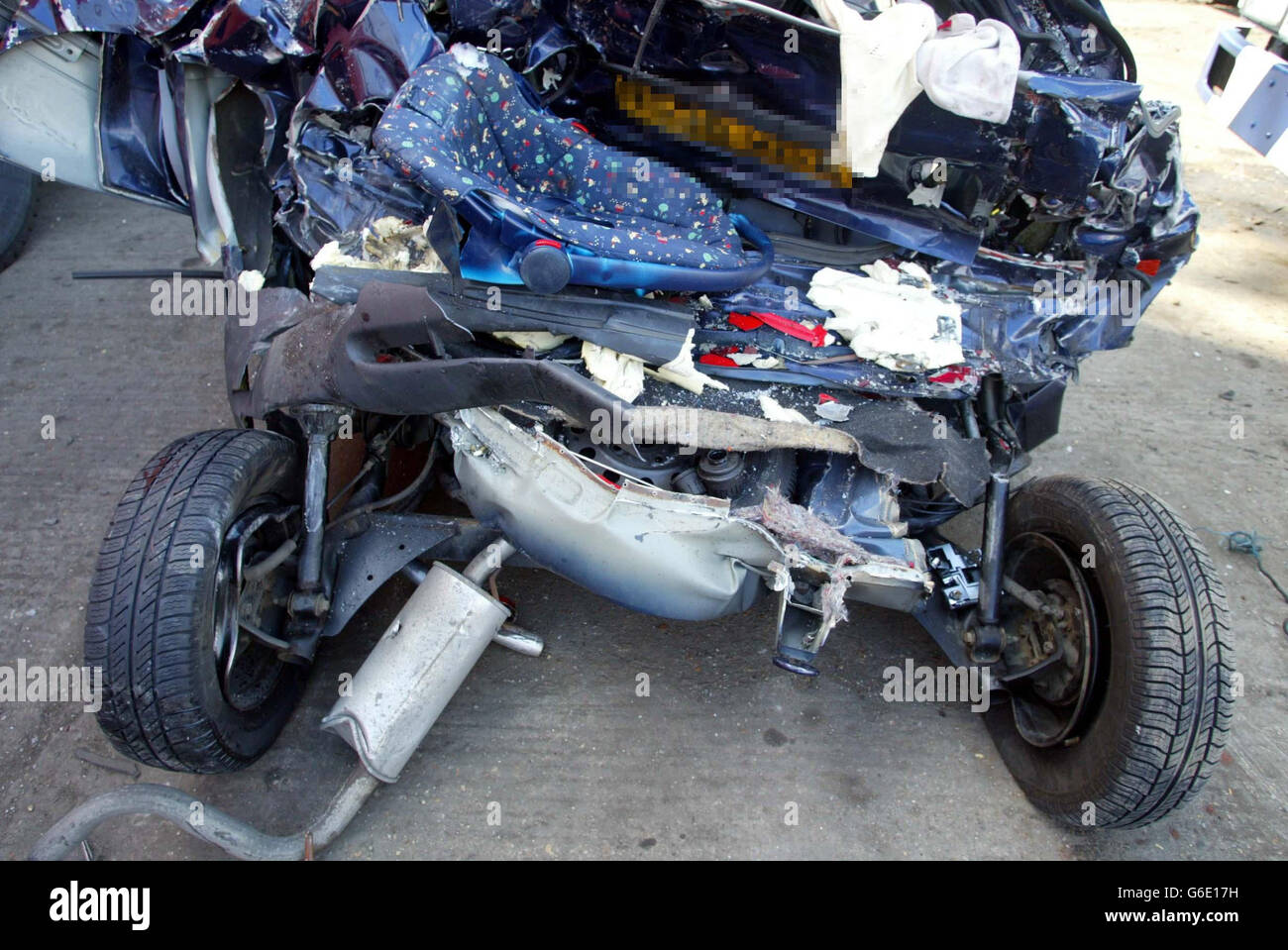 Family Killed in Accident on the M1 Stock Photo: 107258469 - Alamy