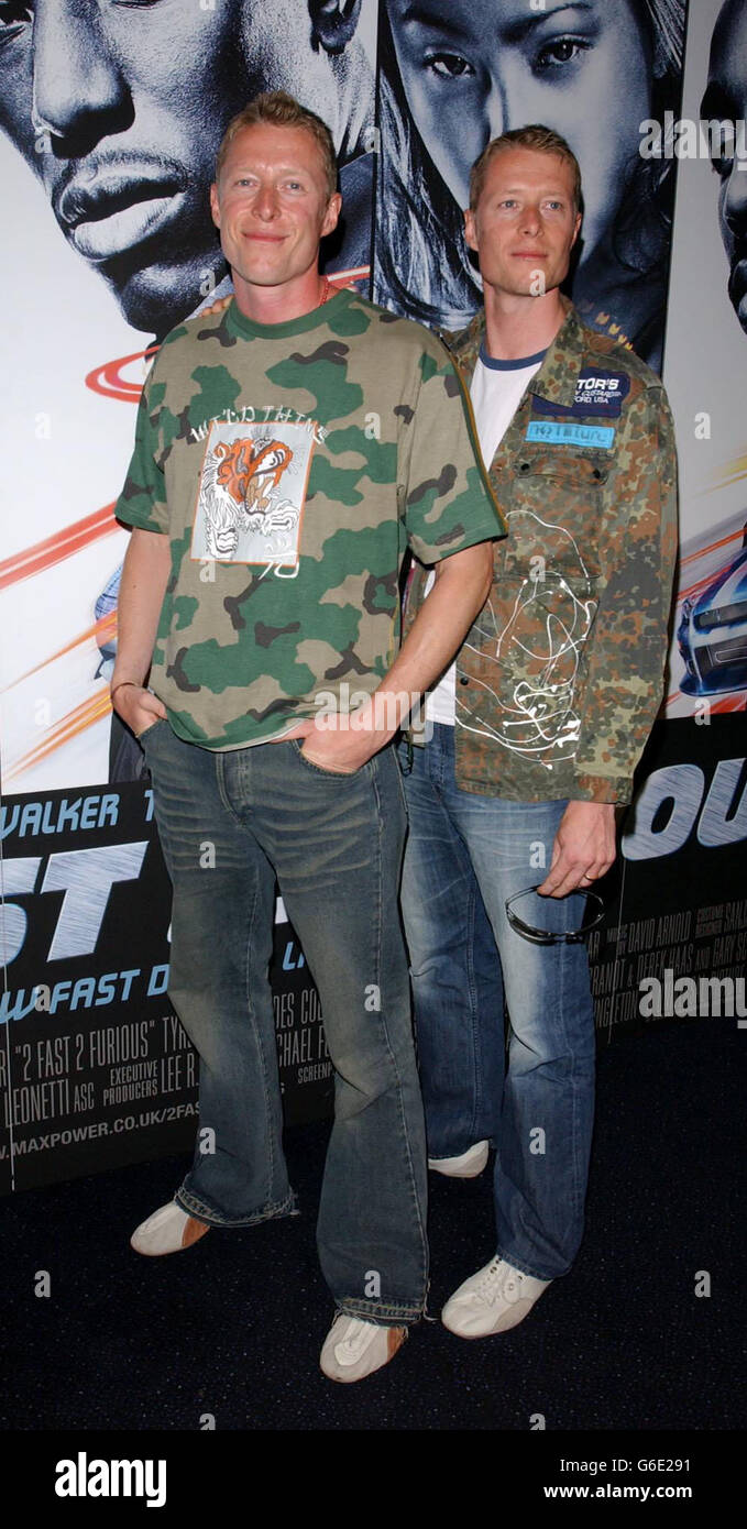 rayment twins 2 fast 2 furious stock photo 107259293 alamy