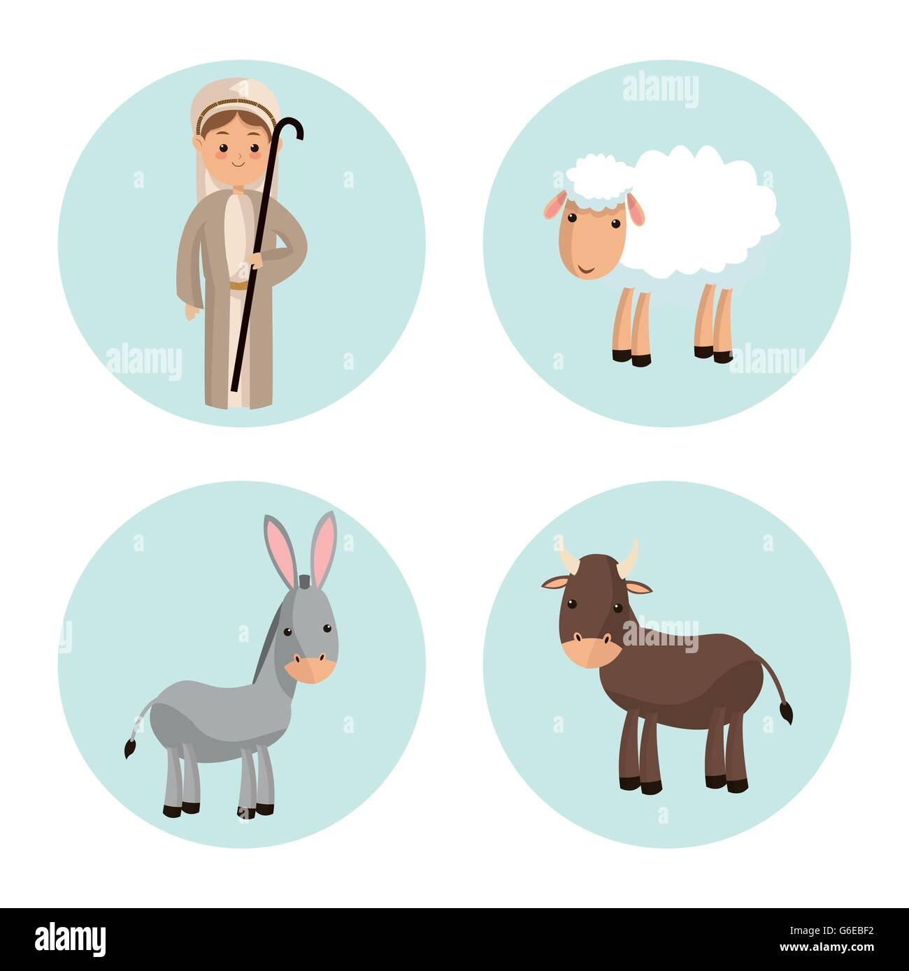 Holy Family Donkey Stock Photos & Holy Family Donkey Stock Images ...