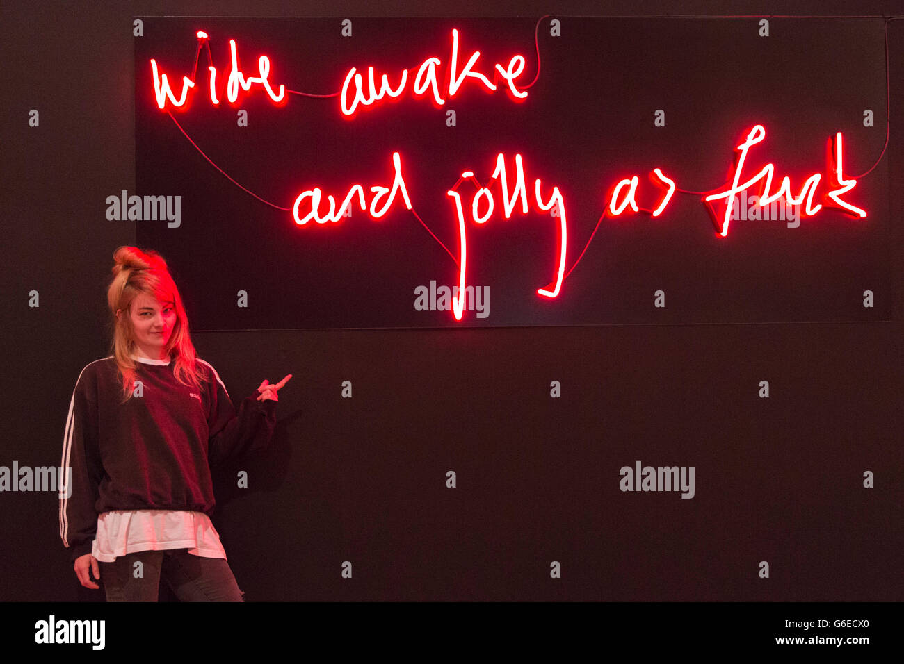 London Uk  Ailsa Sinclair Wide Awake And Jolly As Fuck A Project That Explores The Positive Attributes That Come With Mental Illness