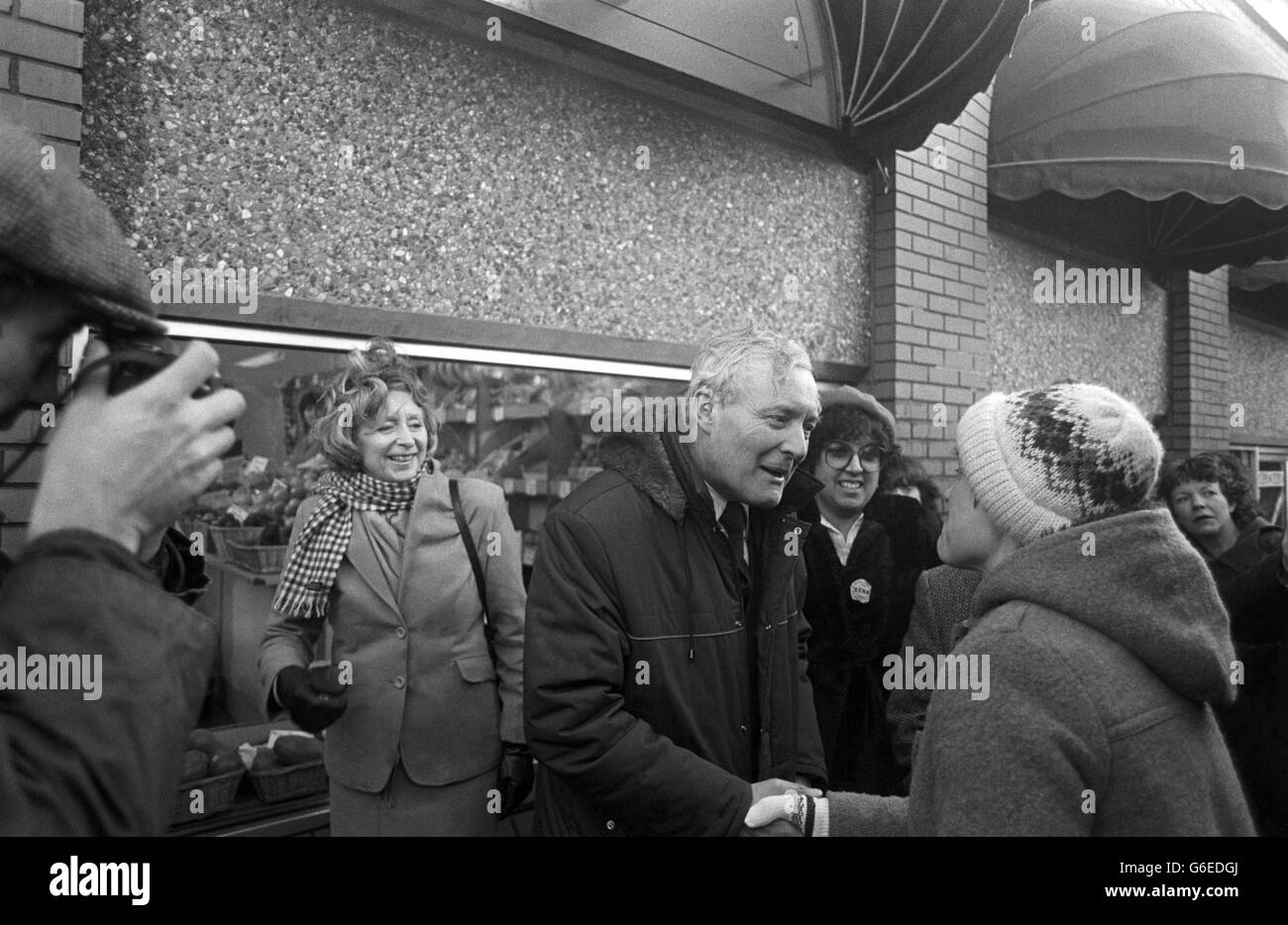Politics - Tony Benn - Chesterfield - Stock Image