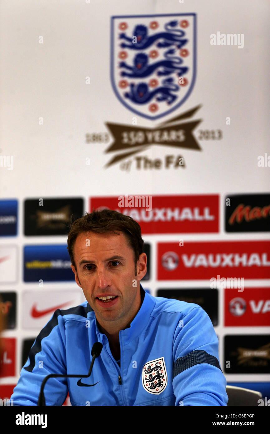 Soccer - UEFA Euro Under 21 Qualifying - Group 1 - San Marino v England -  England media activity - St George s Park 27ae849b6c76b