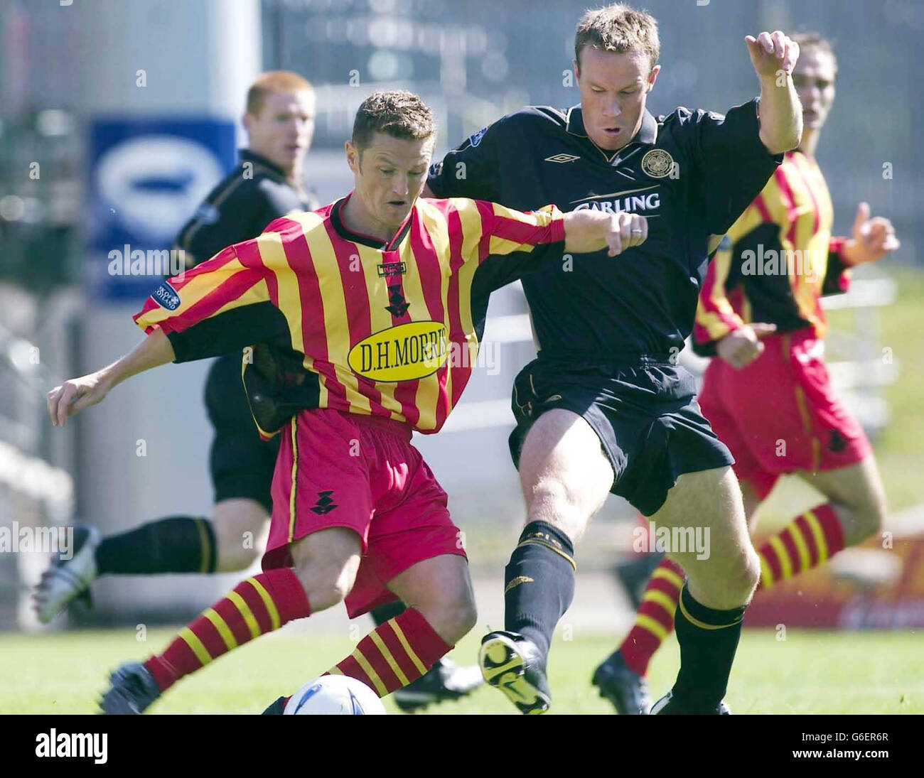 Partick v Celtic - Stock Image