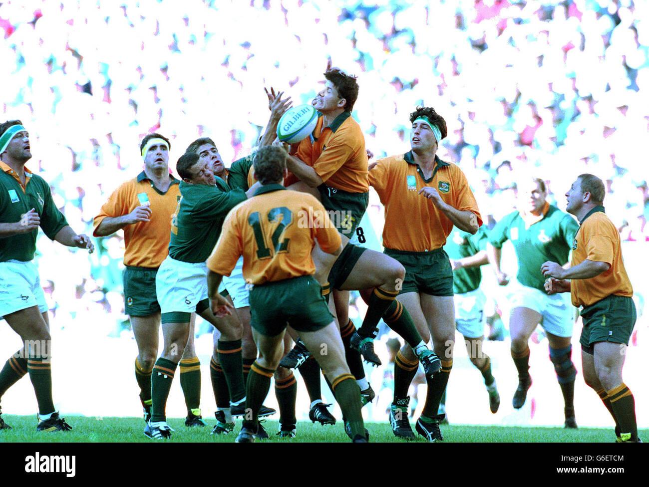 1995 World Cup SA vs Australia - Stock Image