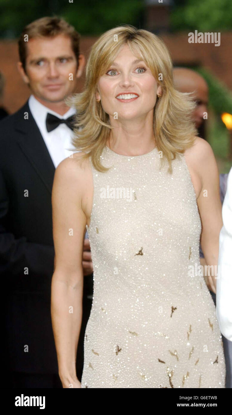 Anthea Turner CHASE Summer Ball Stock Photo