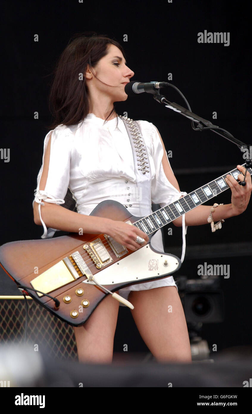 V2003 - PJ Harvey Stock Photo - Alamy