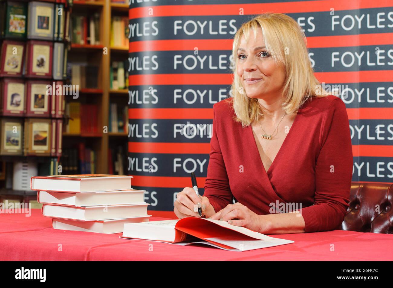 Helen Fielding 'Bridget Jones - Mad About The Boy' signing - London Stock Photo