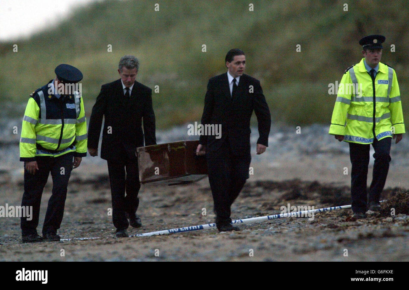 Search for IRA victim McConville remains - Stock Image