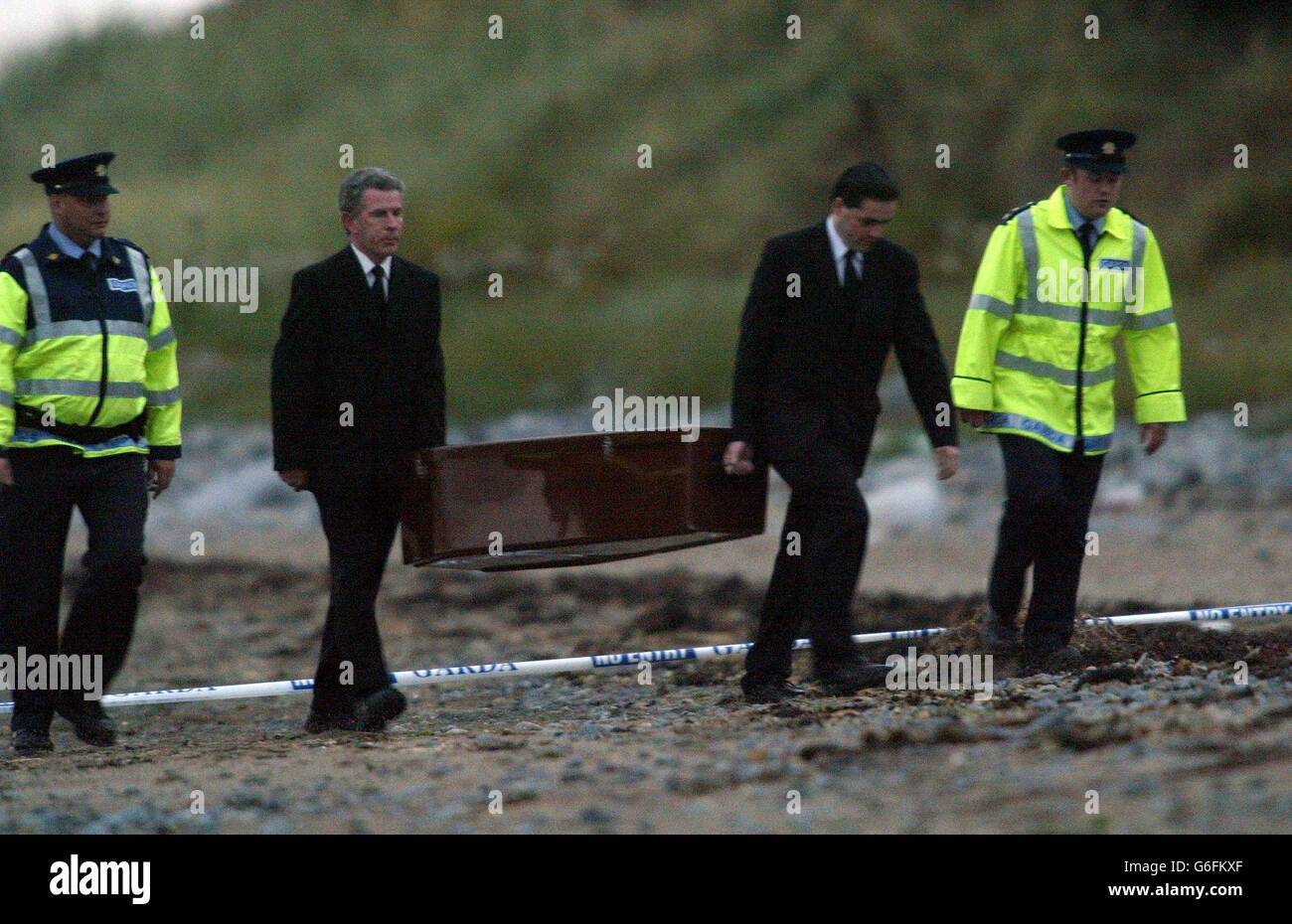 Search for body of IRA victim McConville - Stock Image