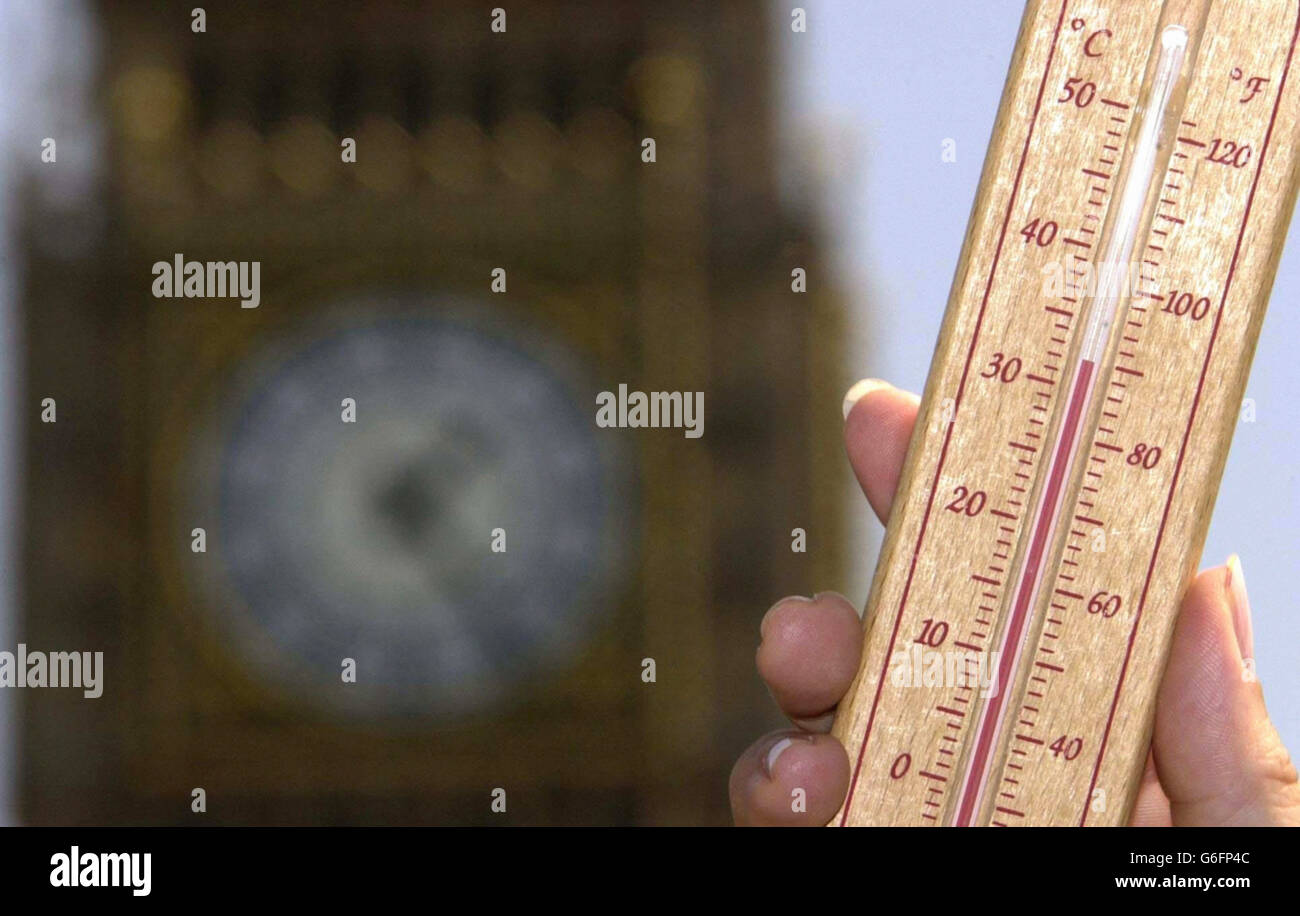 Summer Weather - Heatwave - London - Stock Image