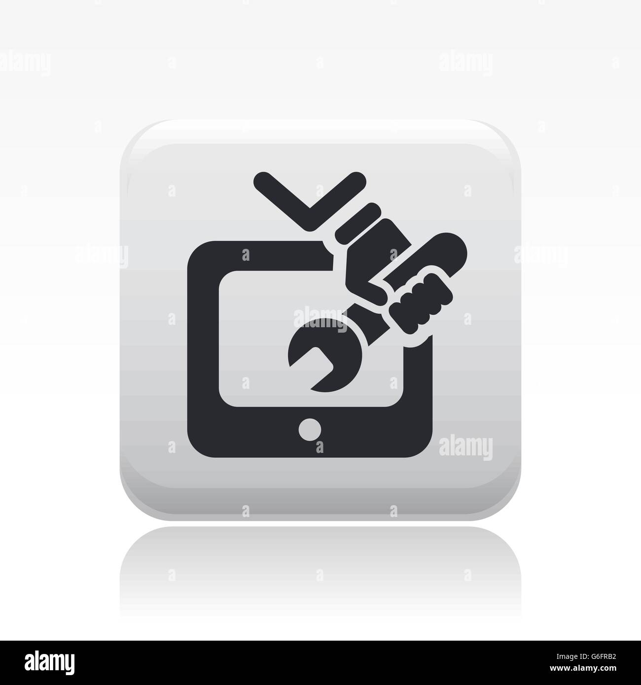 Television Repair Stock Vector Images - Alamy