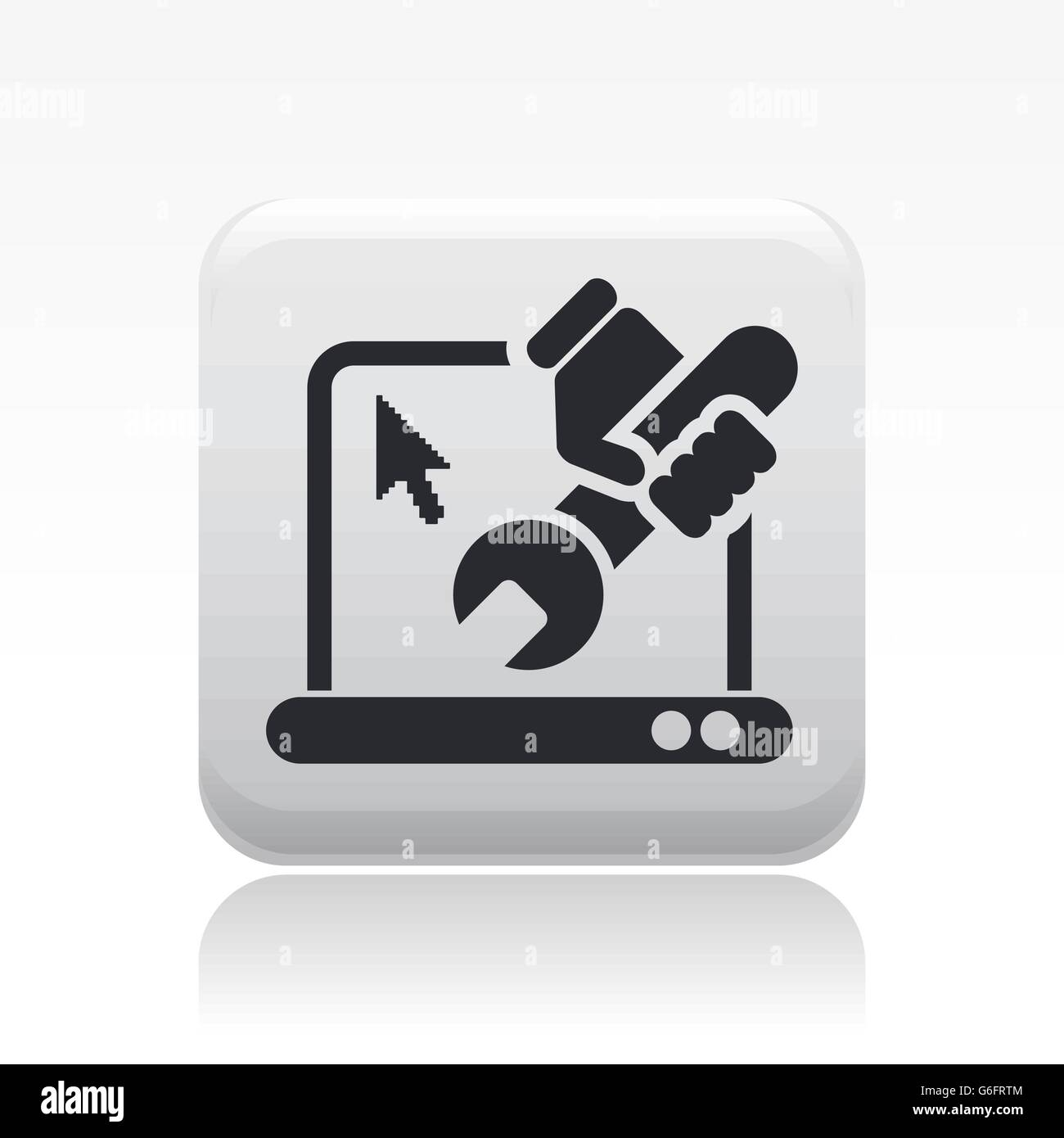 Pc Repair Stock Photos Images Alamy Of A Circuit Board Used In Computer Royalty Free Clip Vector Illustration Single Isolated Icon Image