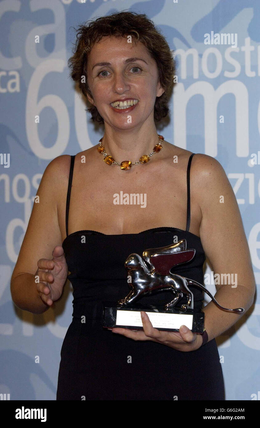 Venice Film Festival 2003 Stock Photo