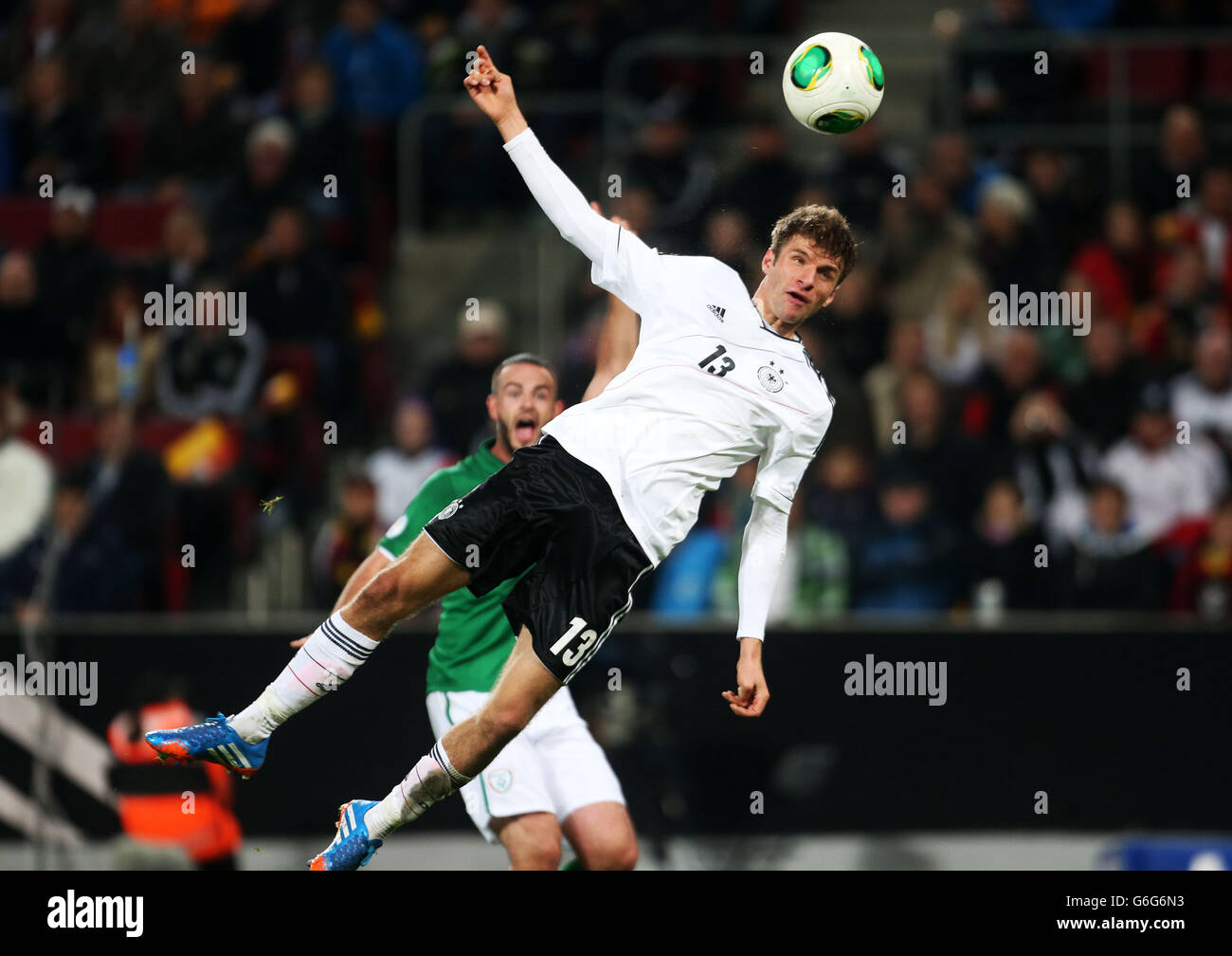 Soccer - FIFA World Cup Qualifying - Group C - Germany v Republic of Ireland - Rhein Energie Stadion - Stock Image