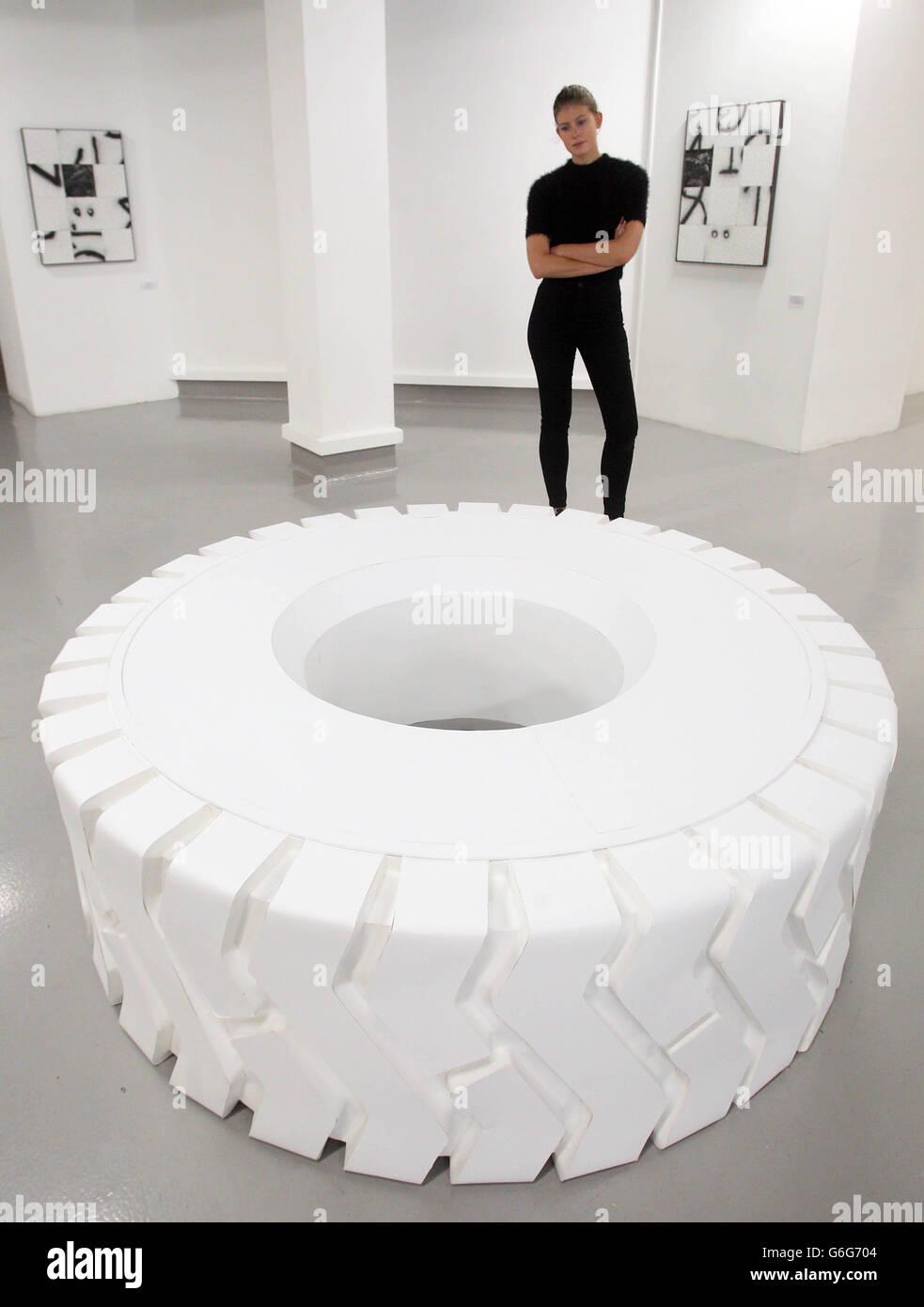 Saatchi Gallery New Sensations 2013 - Stock Image