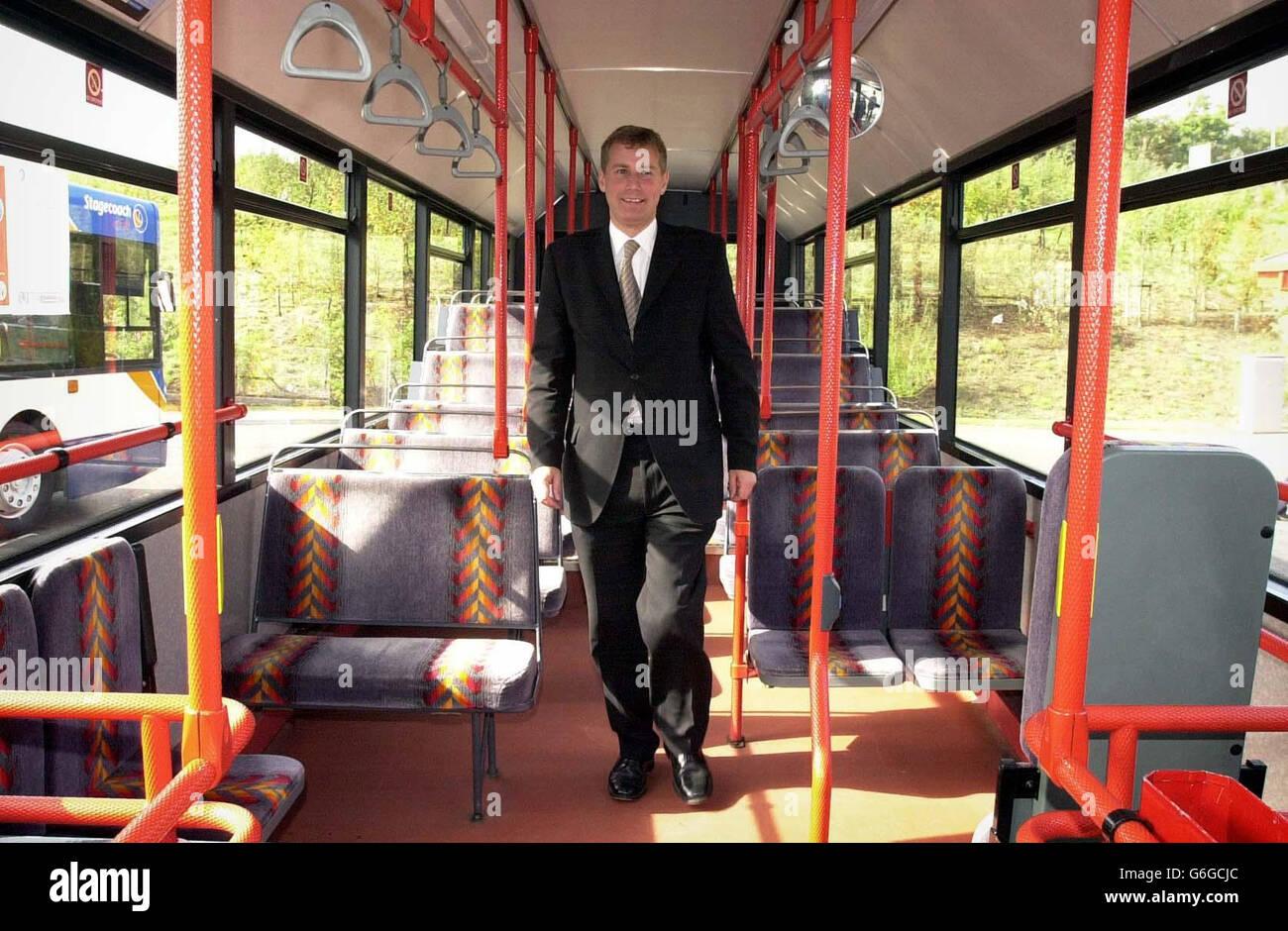 Nicol Stephen Transport Scotland - Stock Image